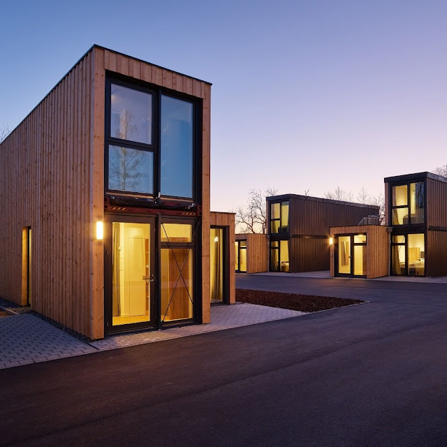 Shipping Container Tiny Homes Village, Germany 9