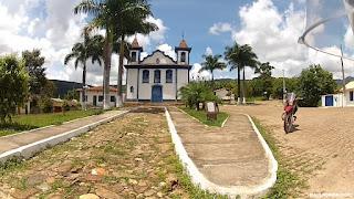 Igreja matriz em Cocais/MG.