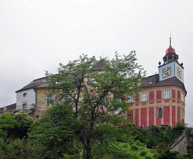 zamek, Czechy, Javornik, zwiedzanie