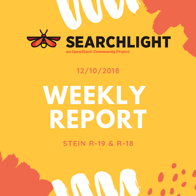 Searchlight Weekly Report - Stein R-19 & R-18