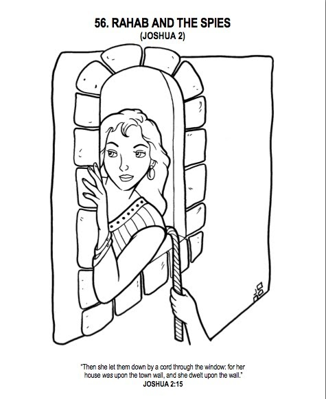 God Is Patient (I Am Not): Rahab, The Coloring Book