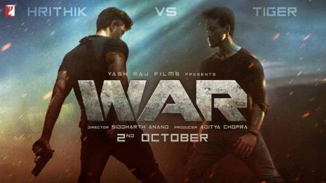 War new upcoming movie first look, Poster of Tiger, Hrithik next movie download first look Poster, release date