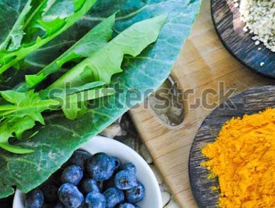 Membersihkan Paru-Paru kotor dengan Makanan Anti-Inflamasi