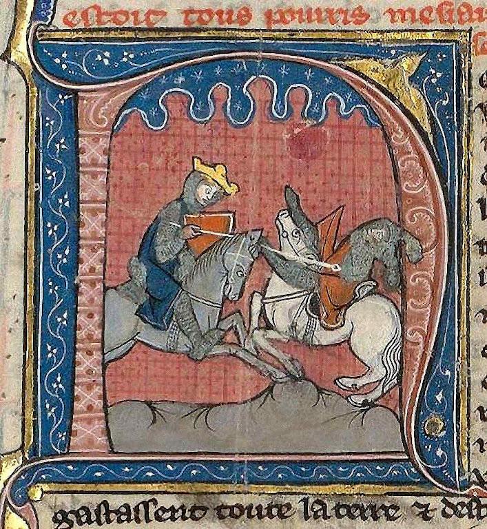 Balduino IV derrota Saladino perto de Ascalon