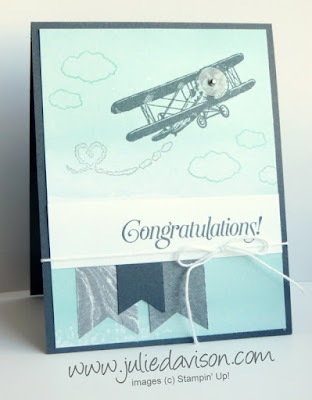 Stampin' Up! Sale-a-bration Sky is the Limit Around the World Blog Hop #stampinup www.juliedavison.com