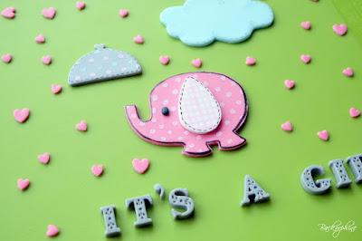 Elefant Cake Topper