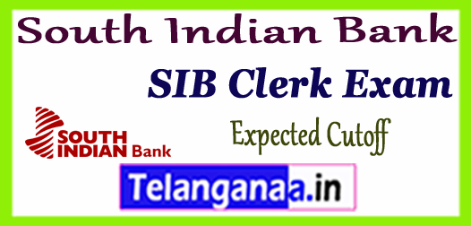 South Indian Bank Clerk Expected Cutoff 2017-18