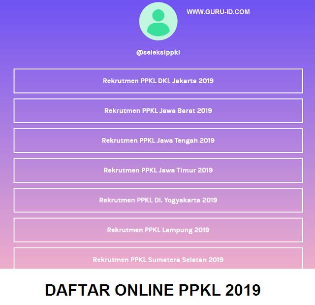 gambar daftar online ppkl linktr.ee/seleksippkl