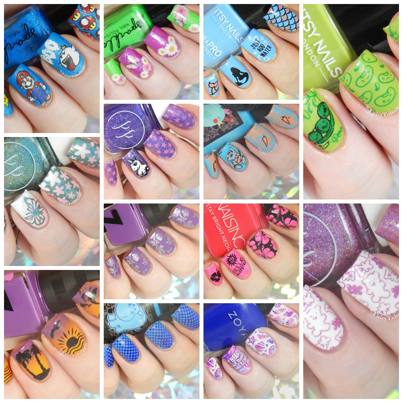 FairyTales Nails: June 2017 Nail Art Round-Up