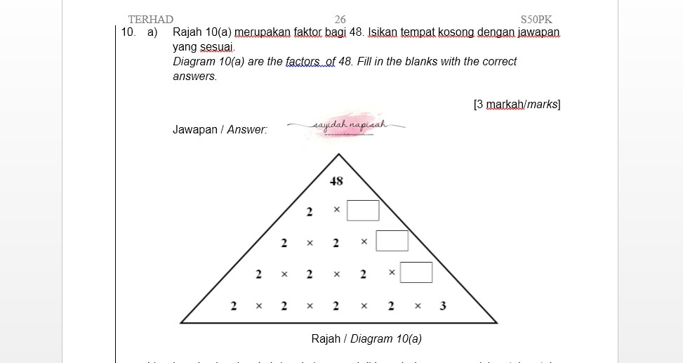 Topik & Soalan Wajib Ada Dalam Exam PT3 - Cara Jawab + Tip (PART 1)