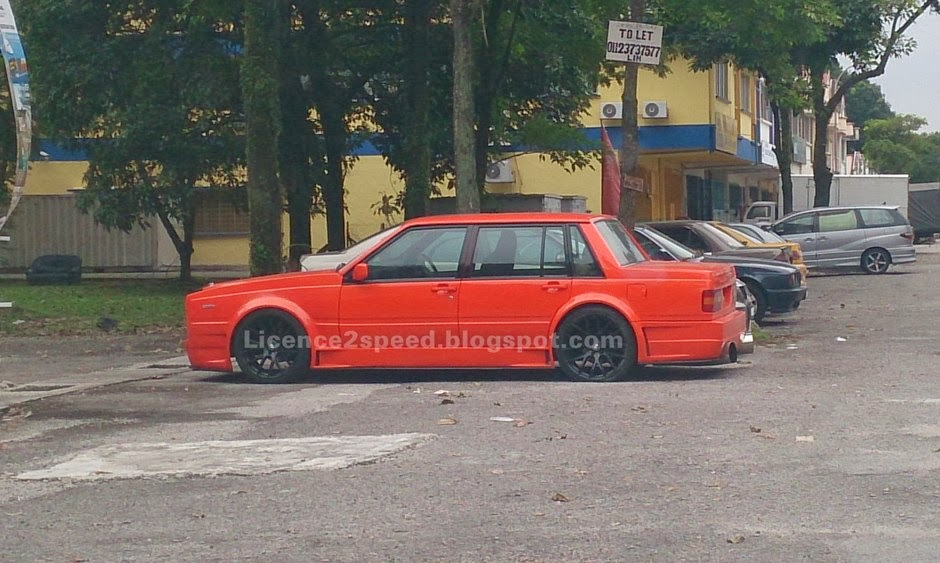 Licence to Speed - For Malaysian Automotive: Volvo 740