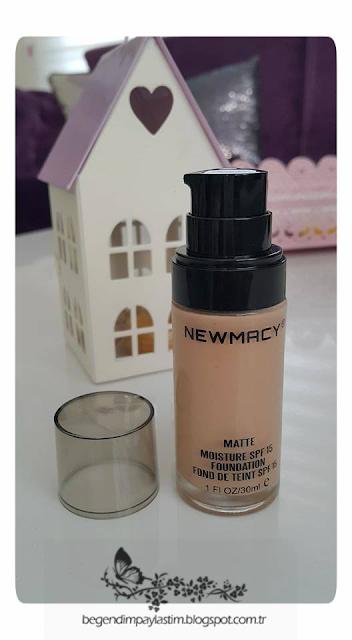 Newmacy Cosmetics Matte Fondeten