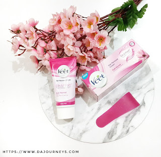 #BeAConfidentYou dengan Veet Hair Removal