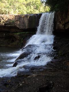 Volume de Água da Cascata da Usina Velha, em Veranópolis, RS
