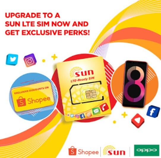 Get a Chance to Win OPPO A3s When You Switch to Sun LTE SIM