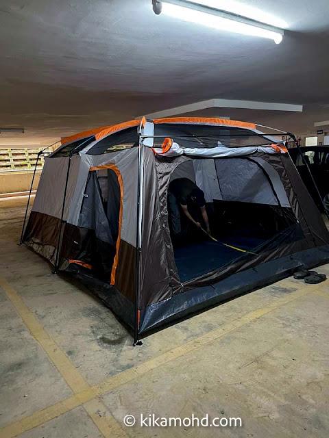 Pengalaman camping bersama anak