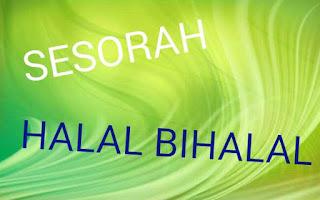 Contoh pidato (sesorah) halal bihalal dalam bahasa jawa