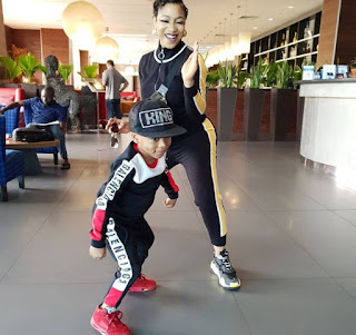 """I Wish I Had My Son For You Instead Of My Ex-husband"" - Tonto Dikeh Writes To Her Ex-Boyfriend"