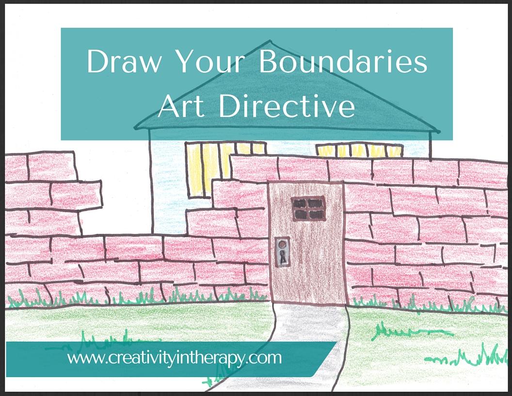 Draw Your Boundaries Art Directive