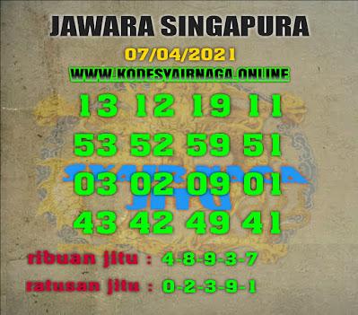 JAWARA SINGAPURA