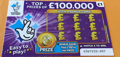 £1 Purple Scratchcard