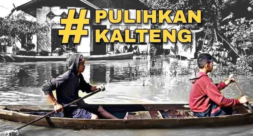 Bantu #PulihkanKalteng dari Dampak Banjir