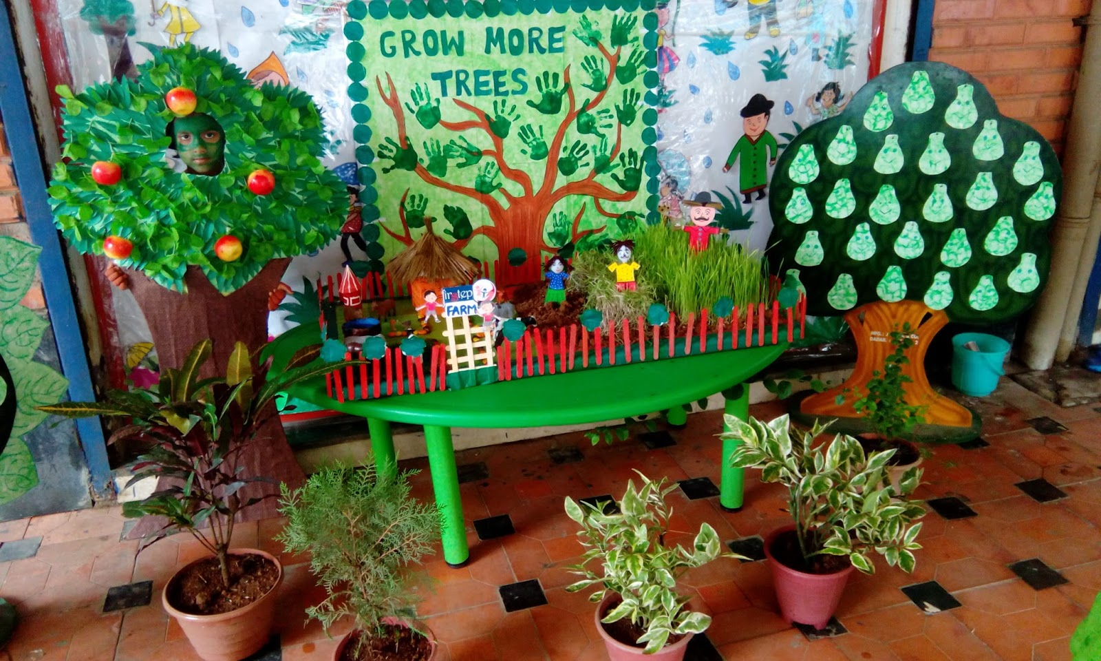 Activities For Preschoolers On Green Colour Day