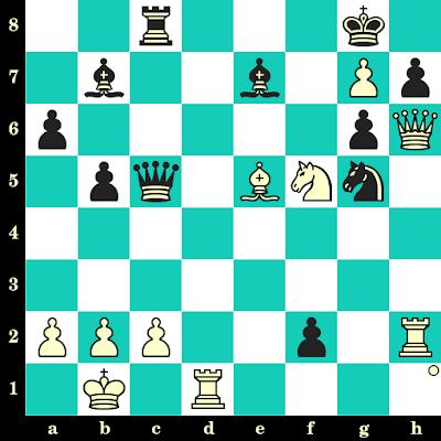 Les Blancs jouent et matent en 2 coups - Tatiana Kosintseva vs Alexandra Kosteniuk, Gaziantep, 2012