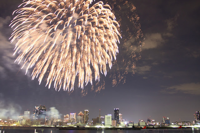 Naniwa Yodogawa Fireworks Festival, Yodogawa River, Osaka