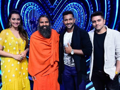 baba-ramdev-shoots-for-nach-baliye-8