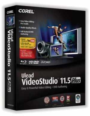 Ulead videostudio plus 11.5 with dolby digital powerpack