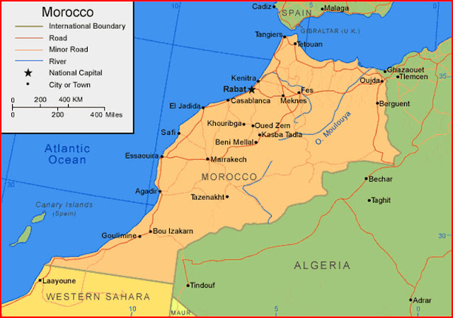 image: Map of Morocco
