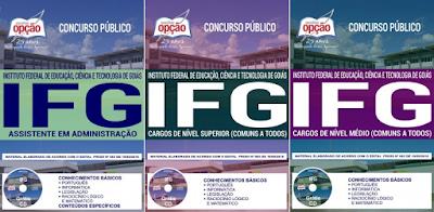 Apostila da Instituto Federal Goiás 2018 - Assistente em administração