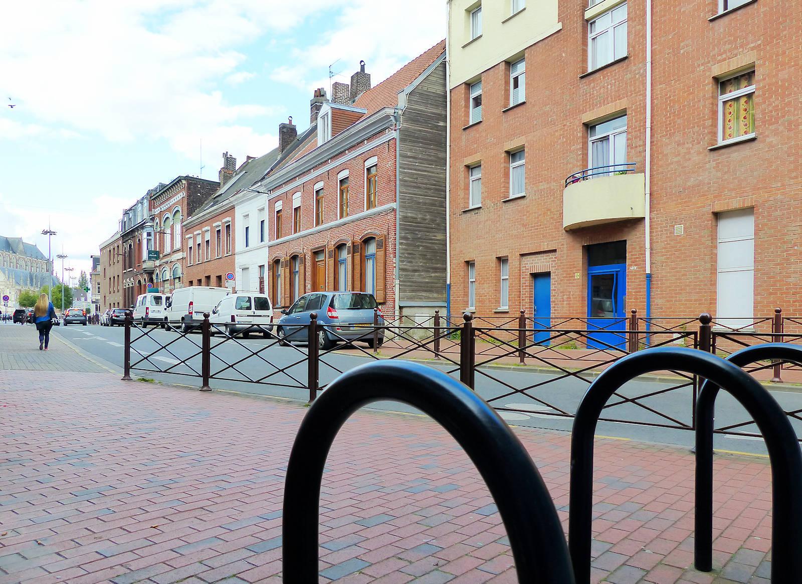 Rue des Anges, Tourcoing - Arceaux Vélos, 2 roues