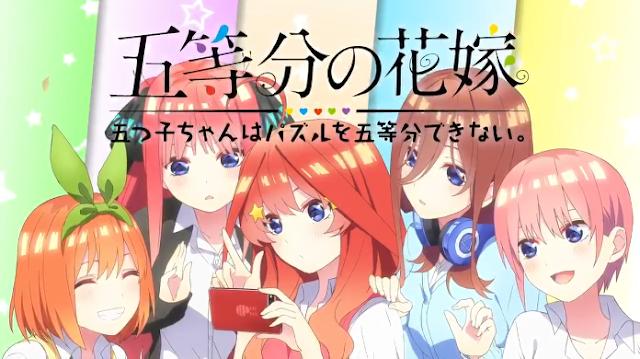 Tráiler del juego para teléfonos de Go-Toubun no Hanayome