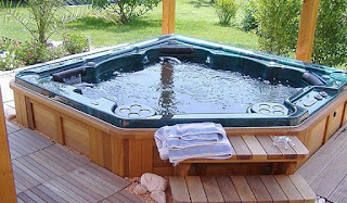 An image of beautiful hottub