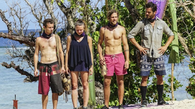 Adam, Jessica, Taylor, and Ken arrive at a challenge.