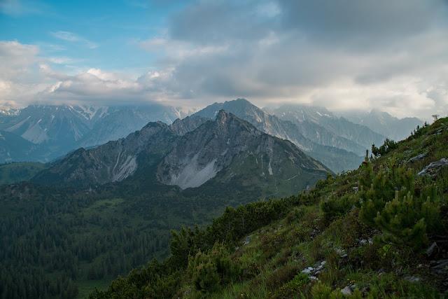 Wanderung auf die Mondspitze  Brandnertal Bürserberg  Wanderparkplatz Tschengla  Alpe Rona  Alpe Furkla 08