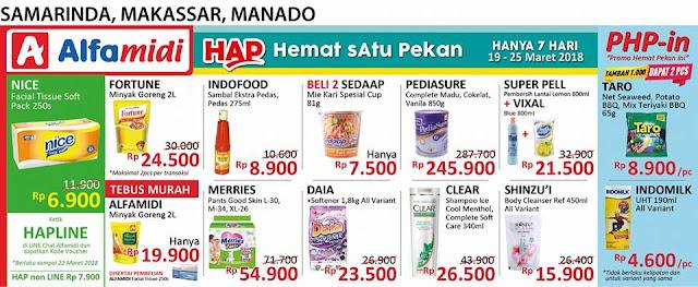 Katalog Promo ALFAMIDI Hemat Satu Pekan Periode 19 - 25 Maret 2018