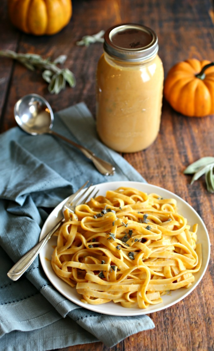 Hungry Couple: Smokey Pumpkin Sage Pasta Sauce