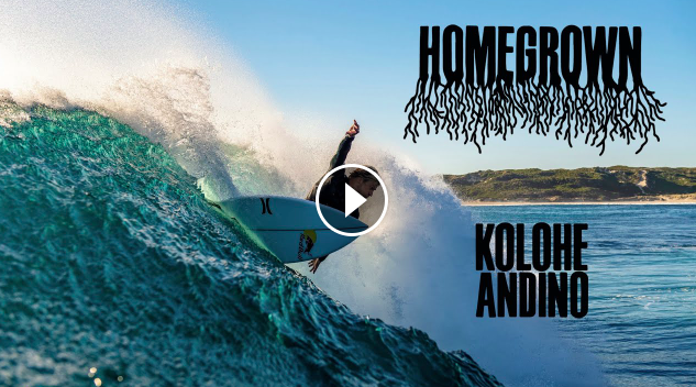 Homegrown w Kolohe Andino The Face Of San Clemente Surfing