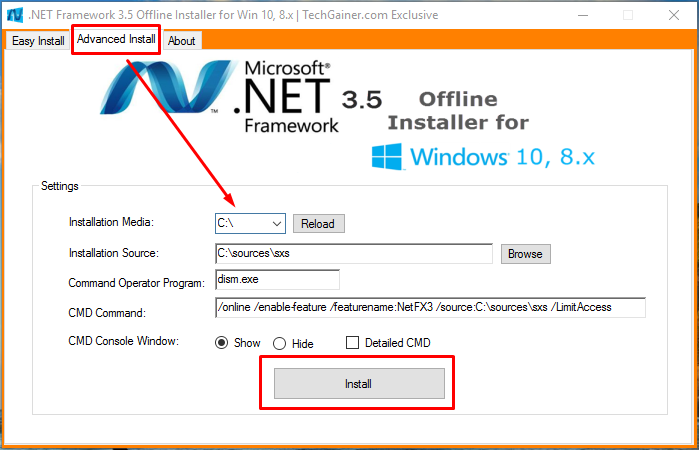 microsoft net framework 3.5 full  for windows xp