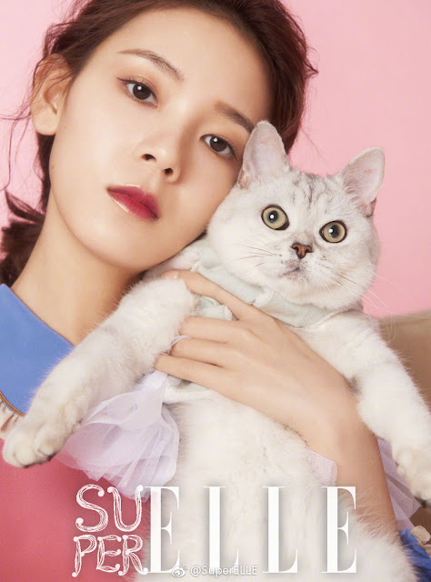 Sebrina Chen Yao and her cat