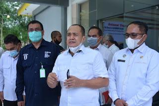Bupati Zahir Sambut Staff Khusus Kementerian Kesehatan Kunker Ke RSUD Batu Bara