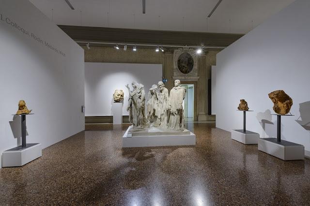 Obras expostas na Galeria Internacional de Arte Moderna de Veneza