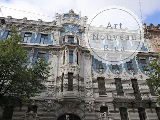 Art Nouveau a Riga: elizabetes iela 10b