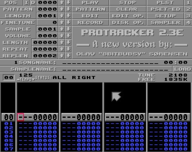 Indie Retro News: Protracker - Popular Amiga music software gets a