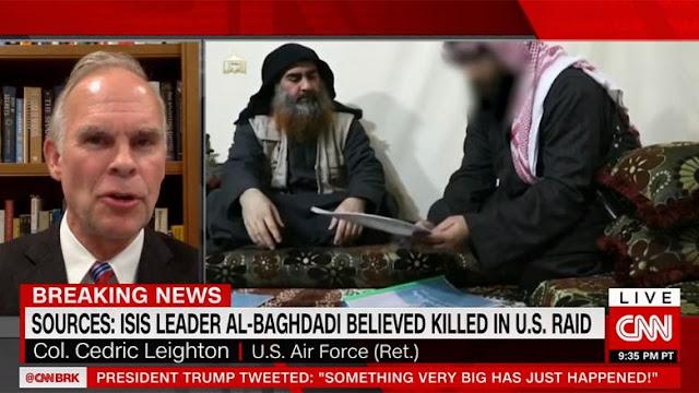 تقارير: الغدادي كان ينام بحزام انتحاري .. شاهد التفاصيل