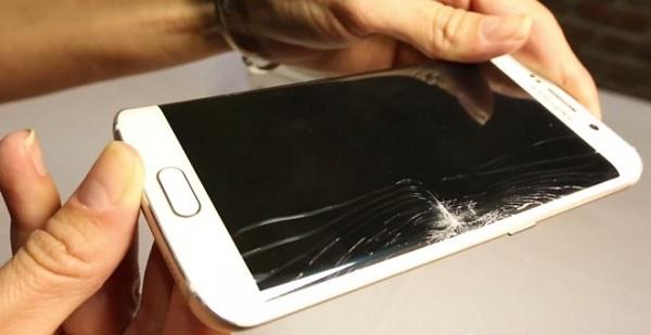 Vỡ mặt kính Samsung S6 Edge Plus