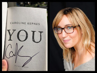 YOU, signed by author Caroline Kepnes